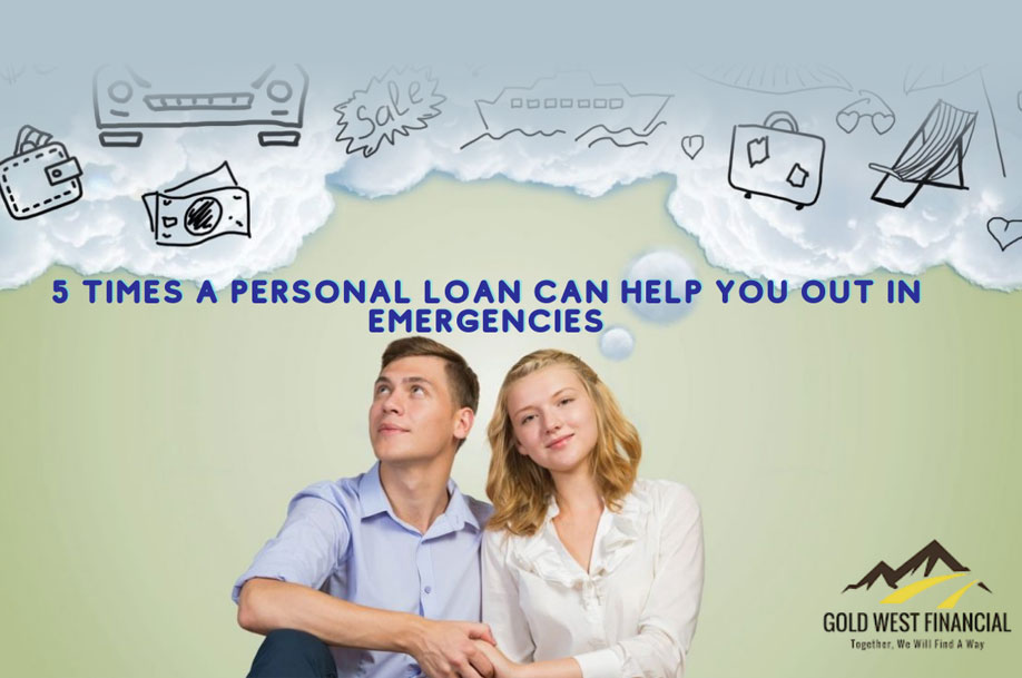 Personal Loans from Gold West Financial - California
